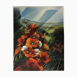 Raymond Poulet Raymond, Farbe der roten Blumen, 1934