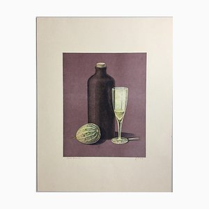 Günther Blau, Potiron en verre bouteille, 1976, Lithographie