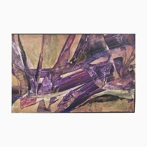 J.K. Ernst Strahl, Purple Explosion, 1920, Technique mixte