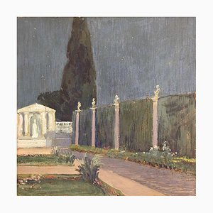 Garden Palace, Gouache sobre Papel