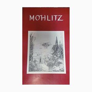 Philipp Mohlitz, 1941-2019, Seltsames Weltplakat