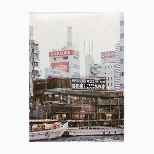 Marina Herrmann, Tokyo 604, 1959, Photo On Wood