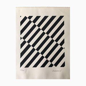 Roland Helmer Roland, Composition géométrique, 1940, Lithographie