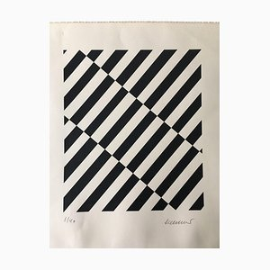 Roland Helmer Roland, Geometrische Komposition, 1940, Lithographie