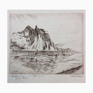 Tschinkel Frantisek, 1876-1929, Schreckensstein, Radierung