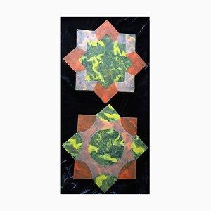 Rath Edeltraud, Two Stars, 1996 Technique mixte