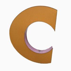 Grande Lettre C Industrielle, 1970s