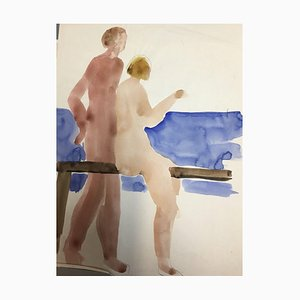 Hellmuth Mueller-Leuter, 1892-1973, Compilation n ° 2, techniques mixtes, lot de 12