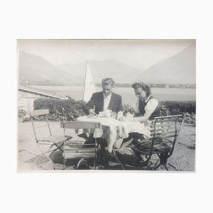 Paar beim Kaffee, 1943, Foto