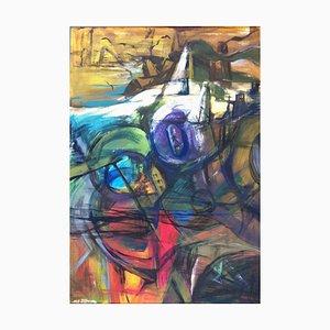 Jung in Kim, P8, 1996-1997, Acrylique sur papier
