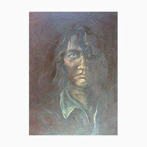 Jung in Kim, 1996-1997, Self Portrait, Acrylique sur papier