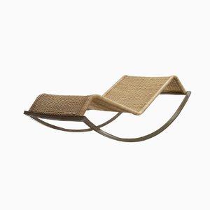Chaise longue a dondolo Siesta di Luis Ramírez