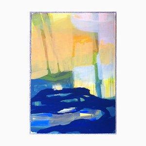 Jung In Kim, Abstrakte Farbe 19, 1996-1997, Acryl auf Papier