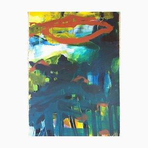 Jung In Kim, Abstract Color 18, 1996-1997, Acrylique sur papier