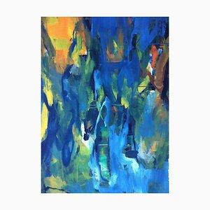 Jung In Kim, Abstract Color 17, 1996-1997, Acrylique sur papier