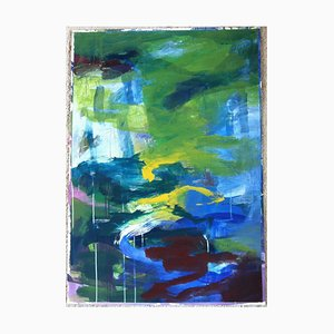 Jung In Kim, Abstract Color 20, 1996-1997, Acrylique sur papier