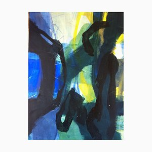 Jung In Kim, Abstract Color 16, 1996-1997, Acrylic on Paper