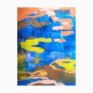 Jung In Kim, Abstrakte Farbe 15, 1996-1997, Acryl auf Papier