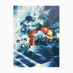 Bouquet de fleurs, 1996, Lithographie