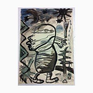 Millerer Maurer, Egg, 1982, Ink