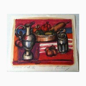 Franz Priking, 1929-1979, carafe à vin, lithographie