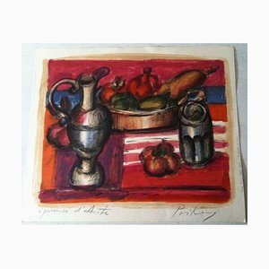 Franz Priking, 1929-1979, Wine Decanter, Lithograph