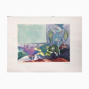 Muriel Chalon-sur-Saône, IWRM, 1966, Aquatint
