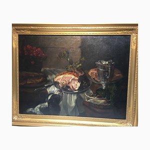 Christian V. Stengel Stephan, Setter Frying, 1803, Öl auf Leinwand