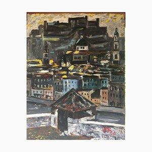 Salzbourg Schieferalpen, 1966, Ölgemälde