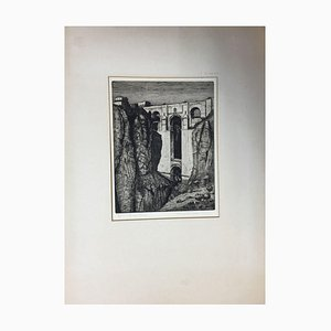Richard Pearsall, 1891, The Bridge Ronda Spain Puente Nuevo