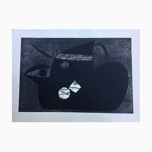 Henry Bird, Black Bird, 1931, Lithographie
