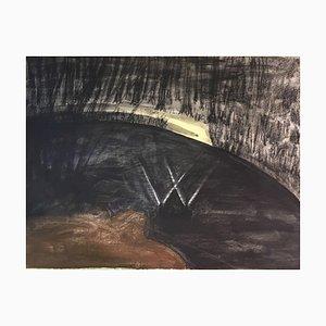 Claudia Klee, 1945, carboncino e acquerello