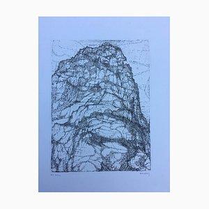 Paul Eliasberg, Lykomedes Rock, 1966, Etching