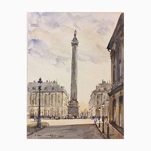 Place De Vendome París, 1949