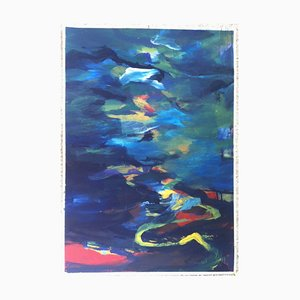 Jung In Kim, Abstract Color 1, 1996-1997, Acrylic on Paper