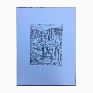 Paul Eliasberg, 1907-1983, Composition, Etching
