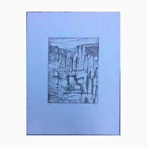 Paul Eliasberg, 1907-1983, Komposition, Radierung