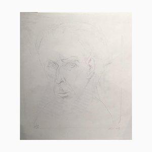 Hoffmann Hilmar, Rues, 1980, Crayon