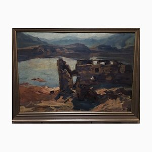 Willi Tillmanns, 1888-1985, Asel Bringhausen, huile sur bois