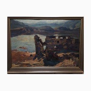 Willi Tillmanns, 1888-1985, Asel Bringhausen, Olio su legno
