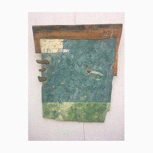 Peter Smolka, Quattro anime, 1997, mattoni di legno