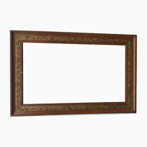 Art Nouveau Walnut Frame
