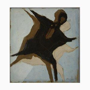 Robert Freund, 1929, Figure, Mixed Media