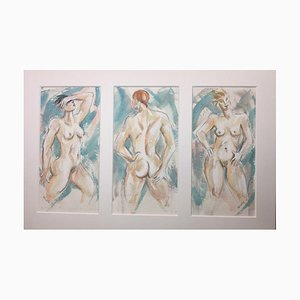 Lucille Cranwell, femme nue
