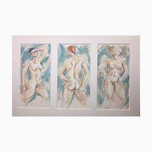 Lucille Cranwell, mujer desnuda