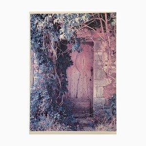 Brigitte Kleinehanding, Rote Tür, Fotodruck