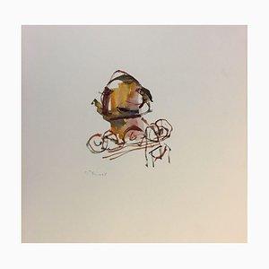 Manfred Binzer, Mannheim Composition, 1998, Aquarelle