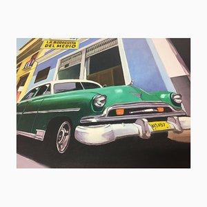 F. P. Gonzales, Cuba Bodeguita Del Medio, 2002, Óleo sobre lienzo