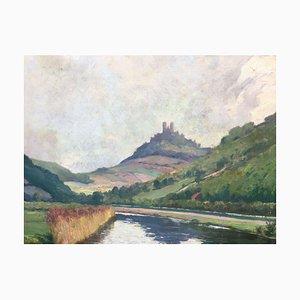 Julius Hellner, Blick auf die Berge