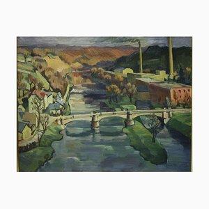 Saxony, Oil on Canvas
